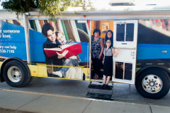 Picture of mobile literacy bus