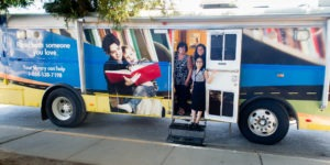 image of mobile literacy bus
