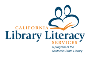 Logo for California Library Literary Services, a program of the California State Library