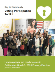 image of Key to Community Voting Participation Toolkit